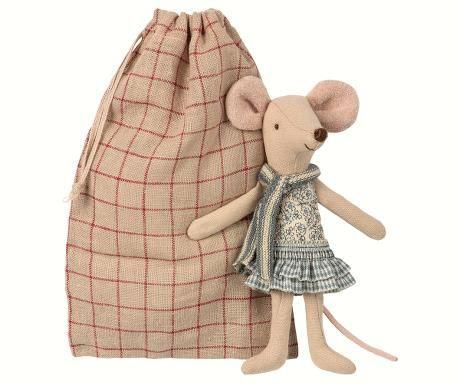 Winter Mouse mit Säckchen von Maileg