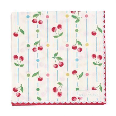 Papierserviette Cherry von GreenGate