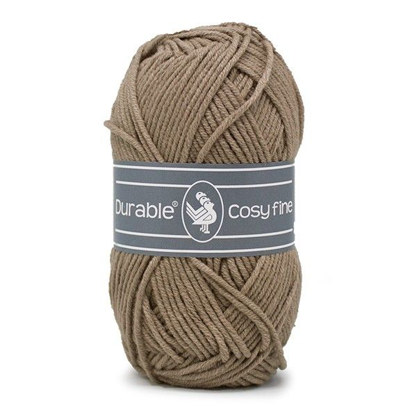 Durable Cosyfine col.343 / Warm taupe