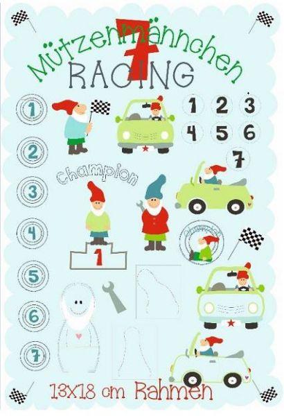 racing 13x18