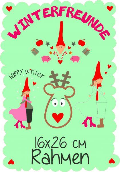Winterfreunde 16x26