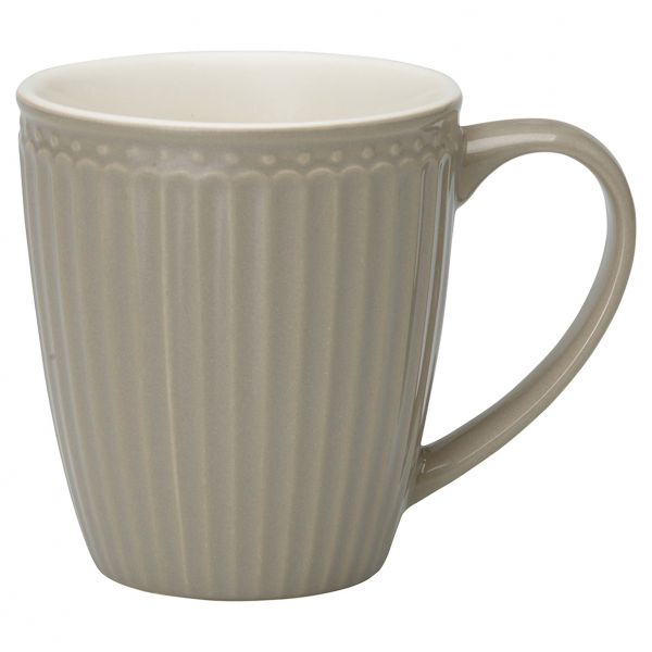 Alice - Mug warm grey von GreenGate