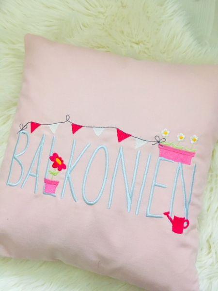 Kissen - Balkonien (rosa)