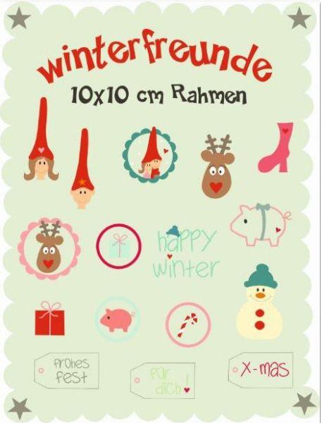 Winterfreunde 10x10