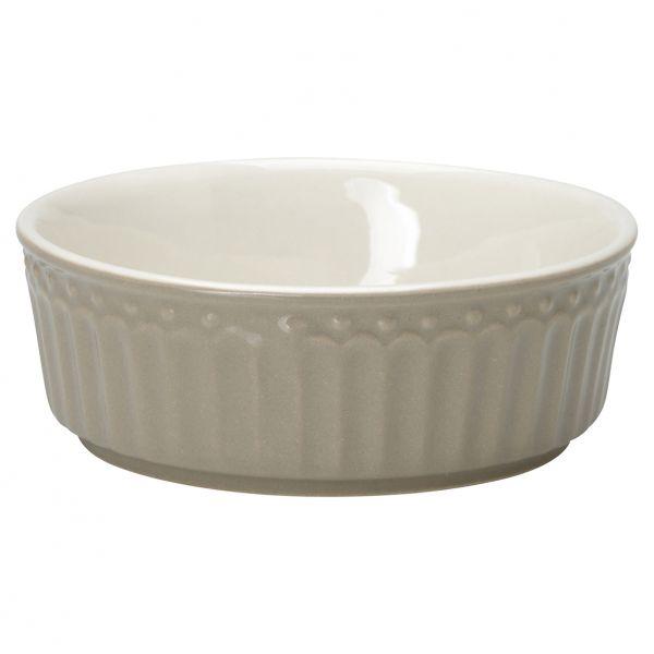 Pie dish Alice warm grey small von GreenGate