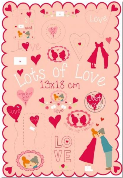 Lots of Love 13x18