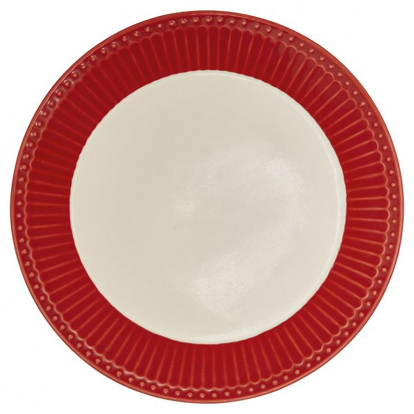 Plate Alice red von GreenGate