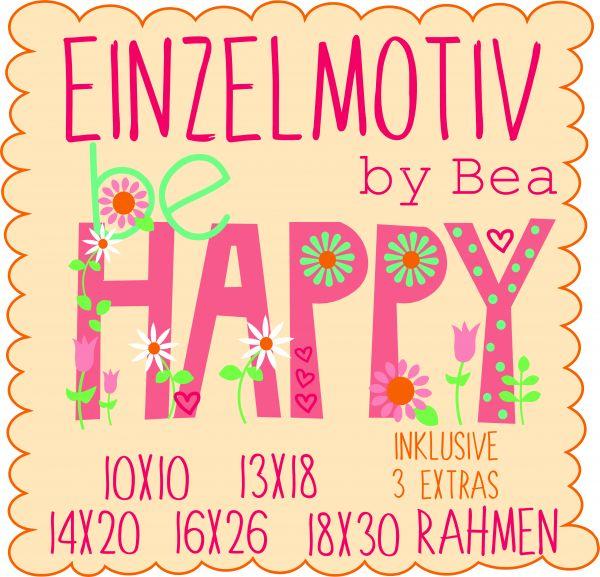 be HAPPY ( Alle Rahmengrößen )