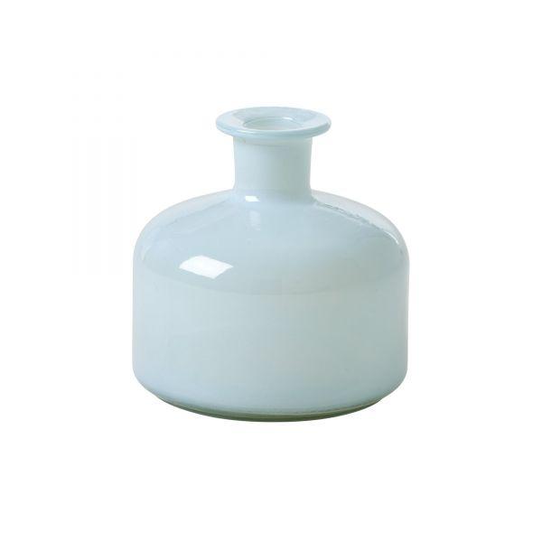Vase aus Glas in mint von Rice