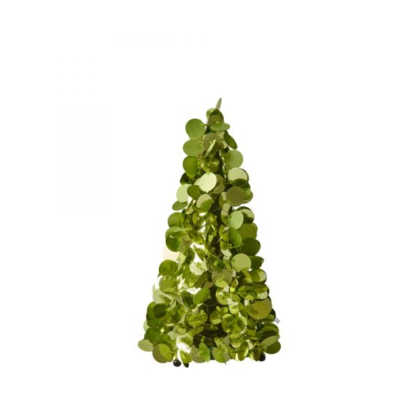 Deko-Weihnachtsbaum in Grün von Rice