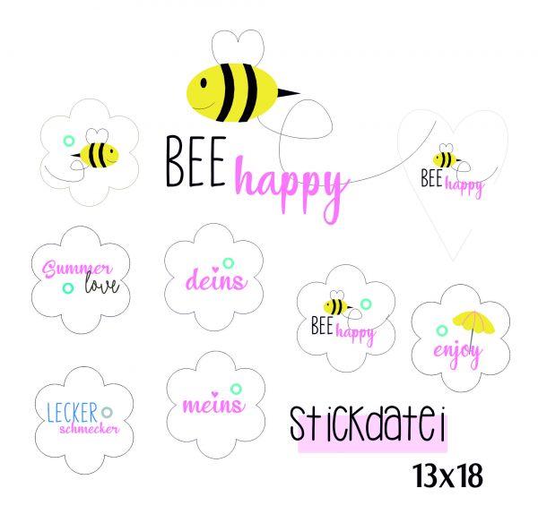 BEE happy 13x18