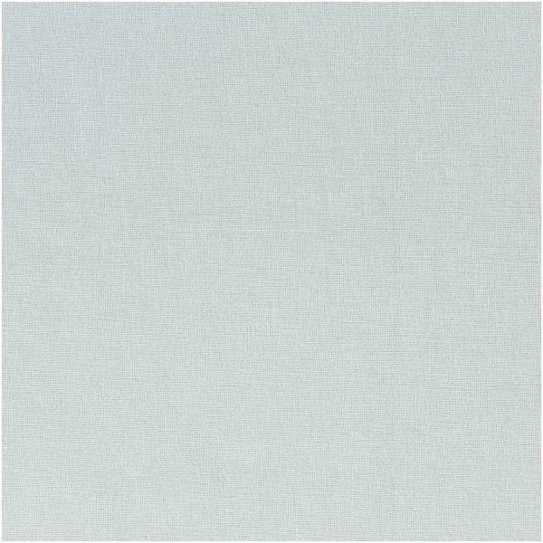 Baumwollstoff - uni - eisblau