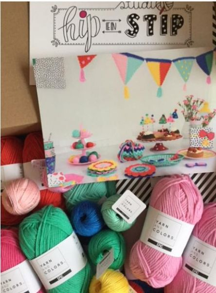 Materialset - Party-Kit von Yarn and Colors