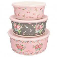 Aufbewahrungsboxen 3er Set Marley Pale Pink von GreenGate