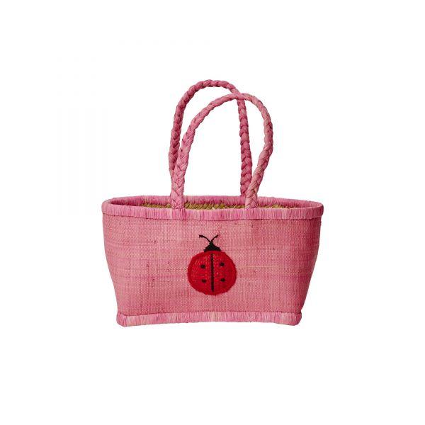 Kids Bag in pink mit marienkäfer von Rice (3)