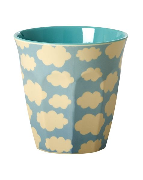 Melamin Becher Cloud - print von Rice