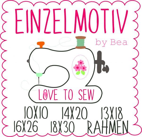 Love to sew ( Alle Rahmengrößen )