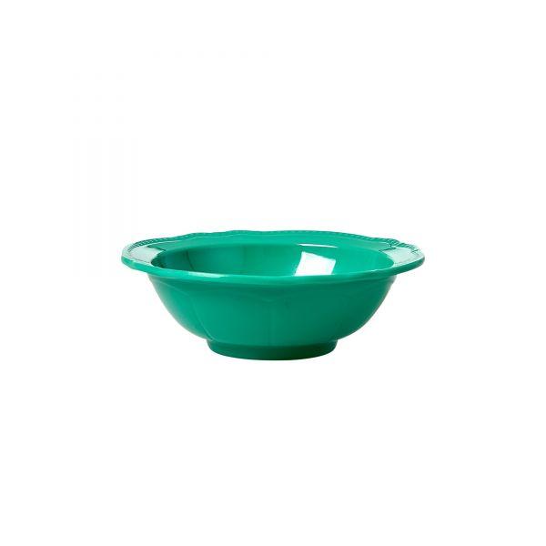 Melamin Schüssel klein Dark Green von Rice