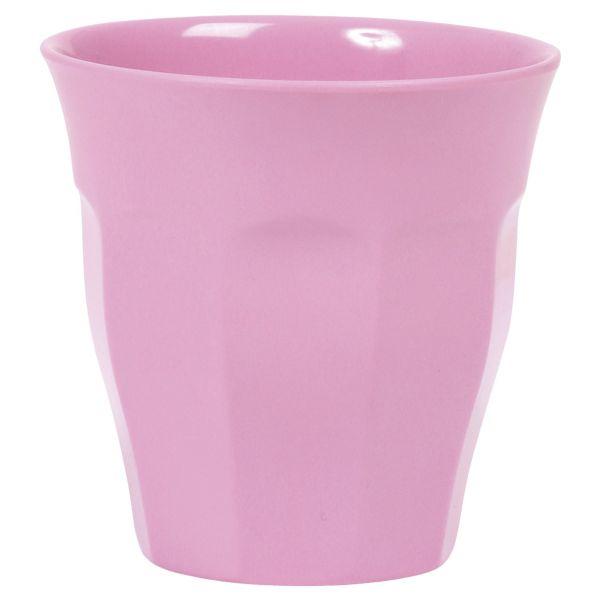 Melamin Becher dark pink von Rice