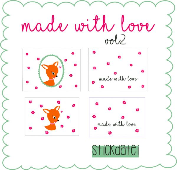 Etuis Made with Love Vol.2 - 13x18, 16x26 und 18x30