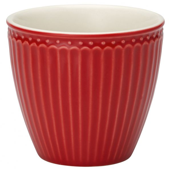 Latte cup Alice red von GreenGate