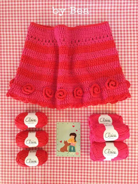 Materialset - Maschenpäckchen Nr.11 - Pelerine (Pink)