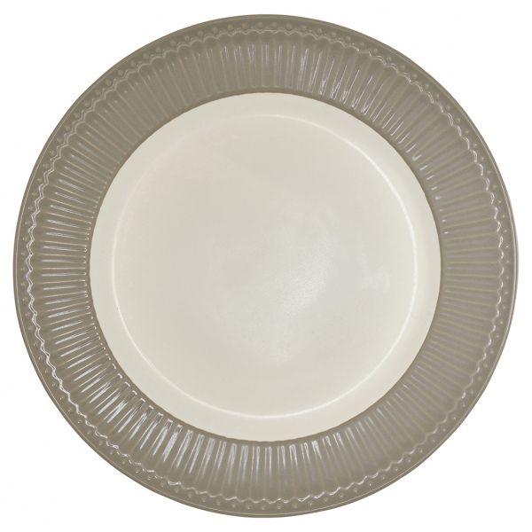Dinner Plate Alice warm grey von GreenGate