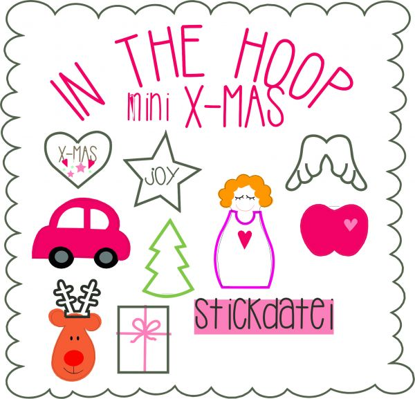 IN THE HOOP - mini-xmas