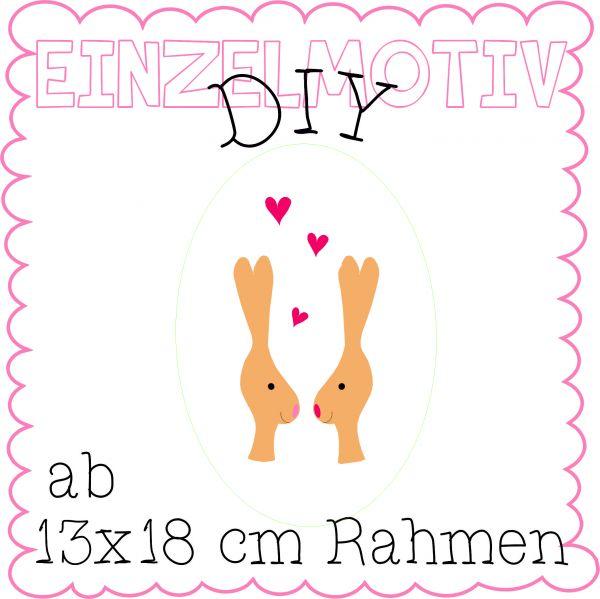 DIY - Hase - 13x18