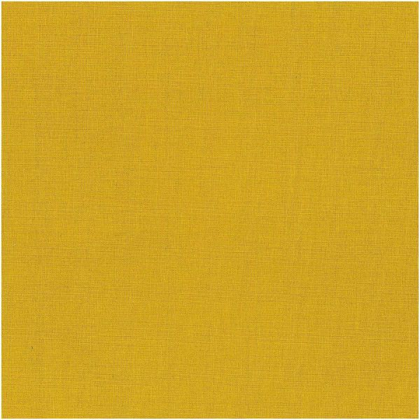 Baumwollstoff - uni - senf gelb