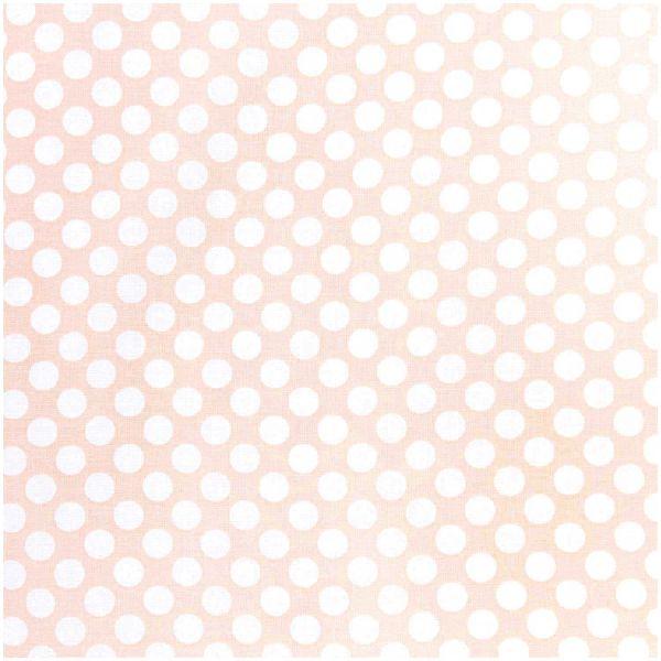 Baumwollstoff von Rico Design - Punkte (apricot)