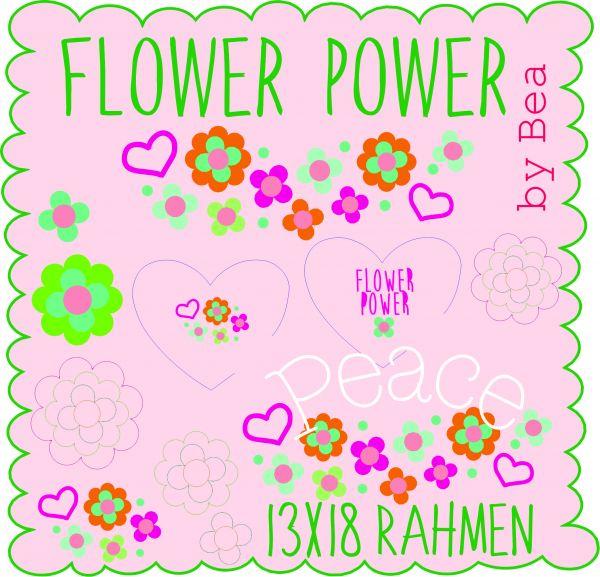 Flower Power 13x18