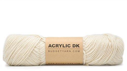 BUDGETYARN - Acrylic DK - 002