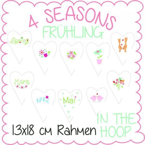 4 Seasons Frühling 13x18