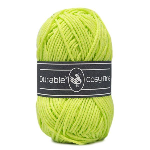 Durable Cosyfine col.1645 / neon yellow