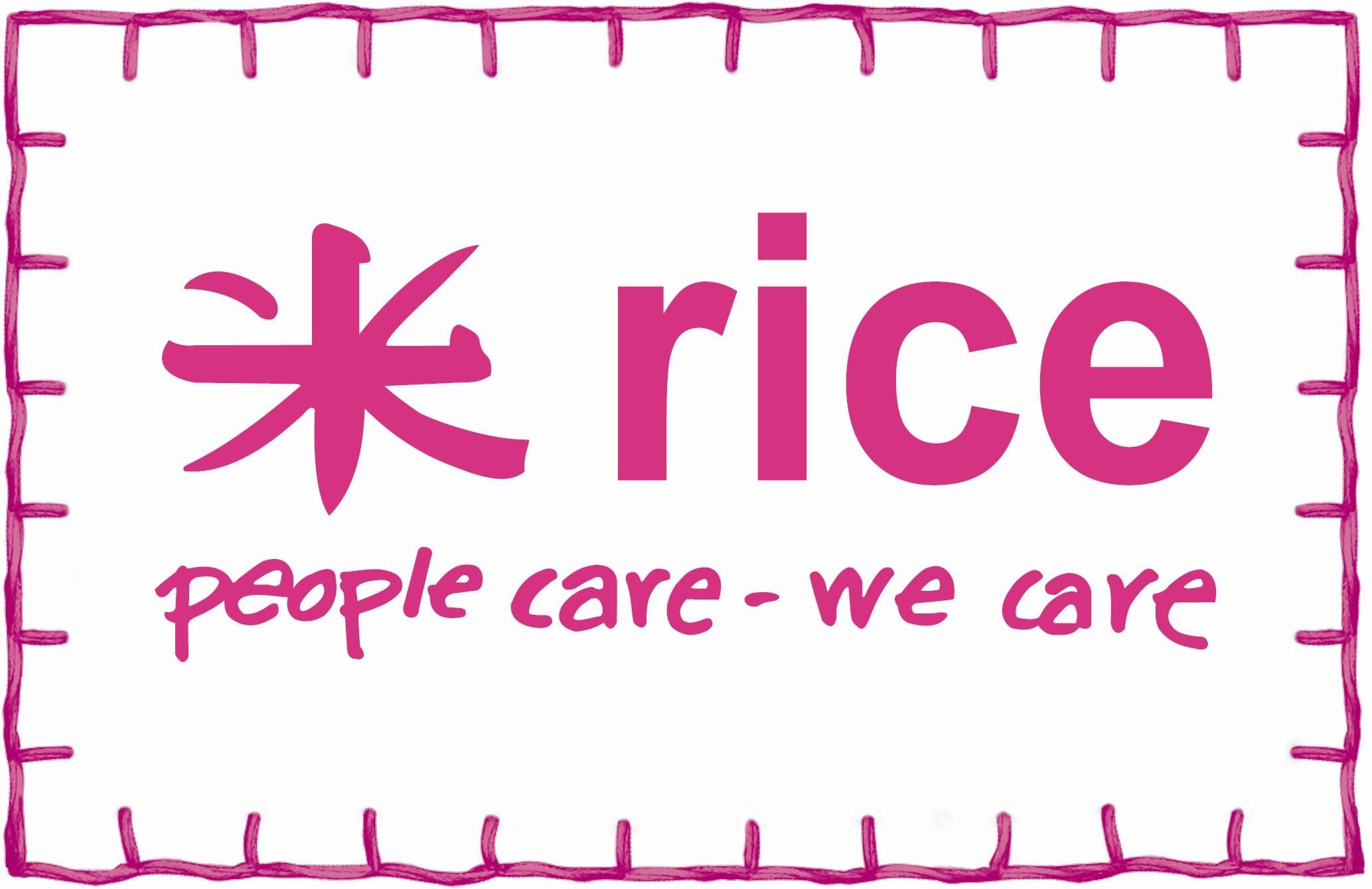 Bildergebnis für rice by rice logo