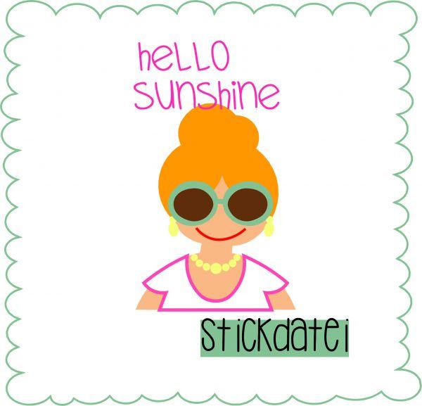 hello sunshine ( Alle Rahmengrößen )