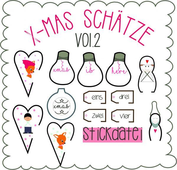 IN THE HOOP - x mas schaetze Vol.2