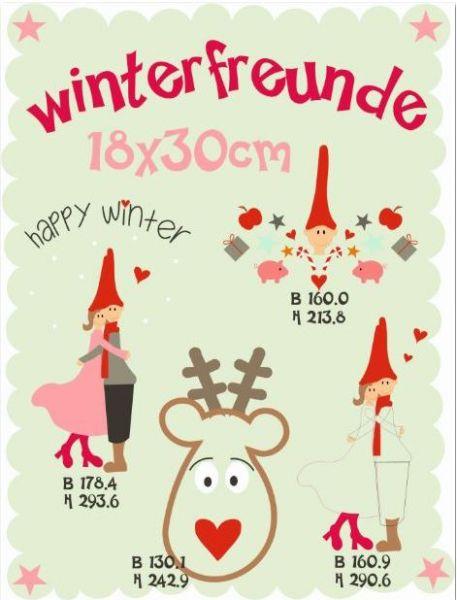Winterfreunde 18x30