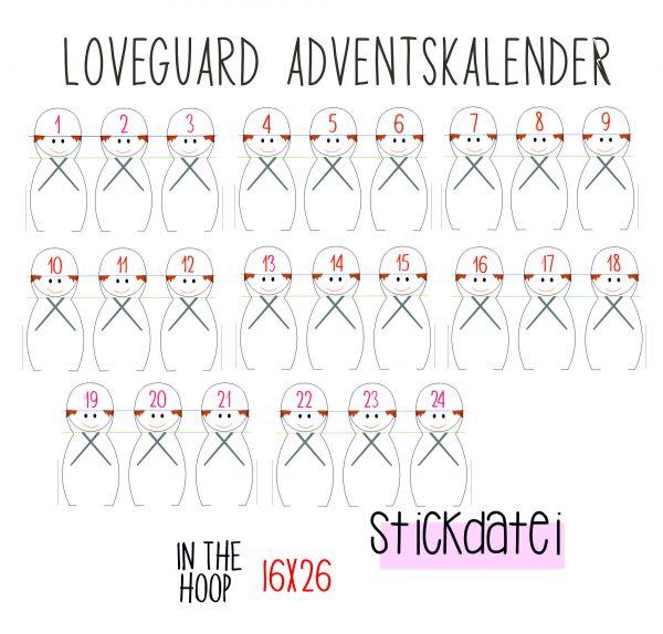 ITH - Love Guard Adventskalender 16x26