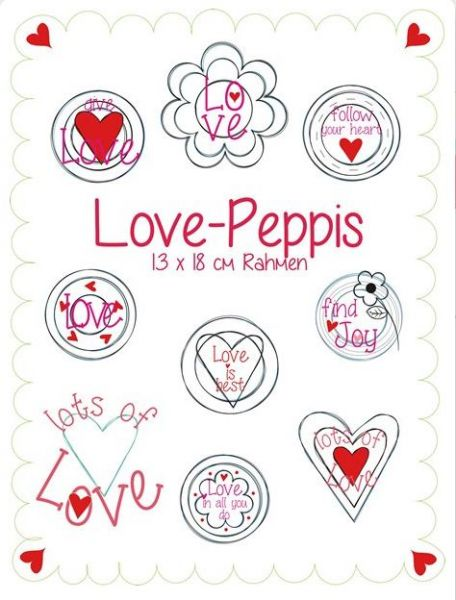 Love Peppies 13x18