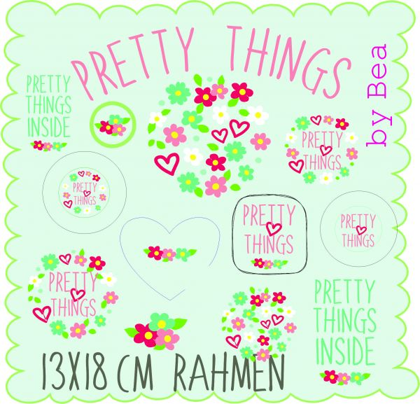 pretty things 13x18