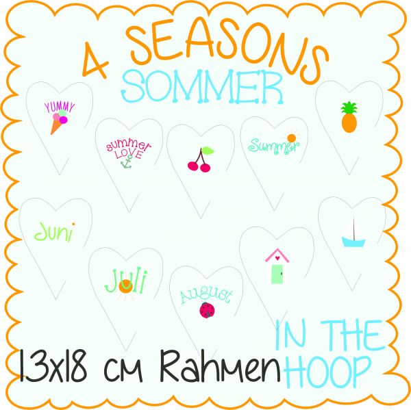 4 Seasons Summer 13x18