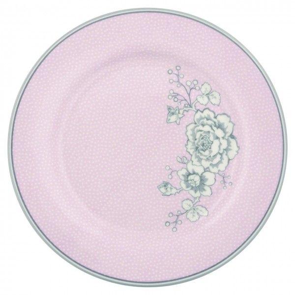 Plate Ella pale pink von GreenGate