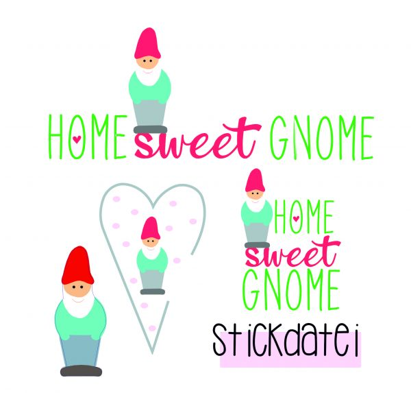 home sweet gnome ( Alle Rahmengrößen )