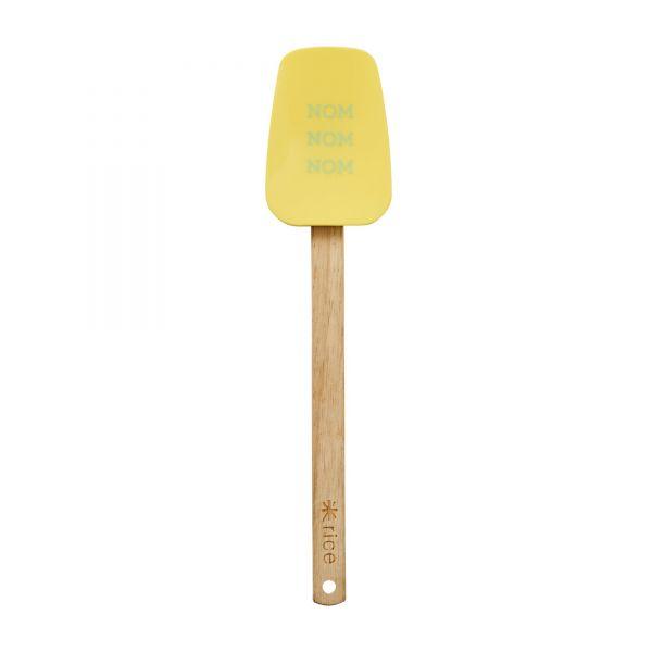 Silikon Küchenschaber in gelb von Rice