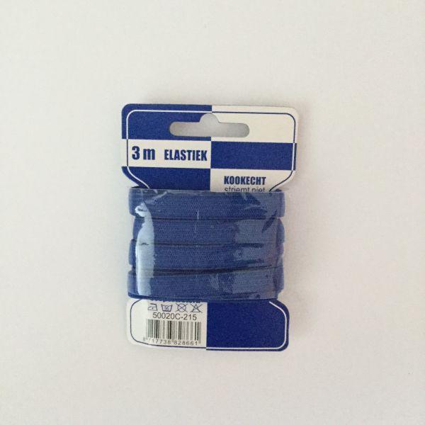 Gummiband - blau - 3 m