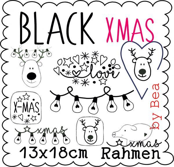 black xmas 13x18
