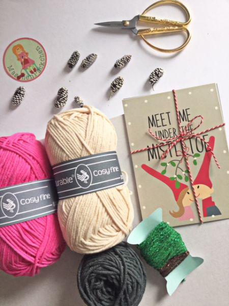 Materialset - MaschenPäckchen zum DIY-Adventskalender 2020