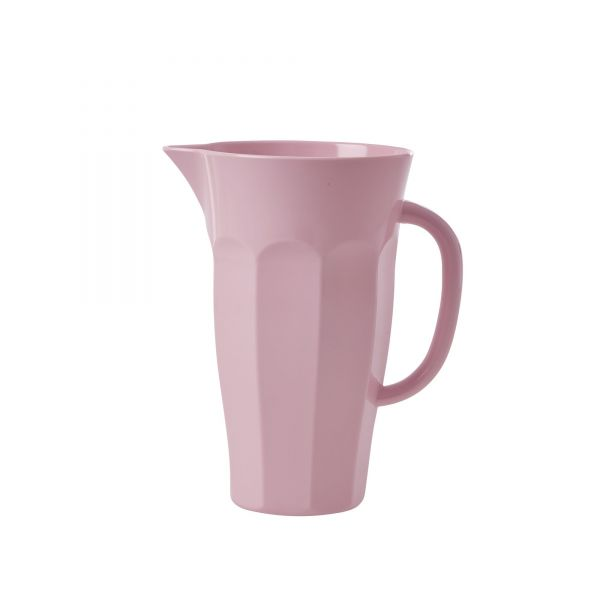 Melamin Pitcher Puder - Soft Pink von Rice